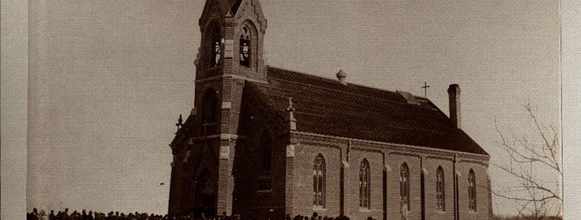 Ellinwood church Kansas History